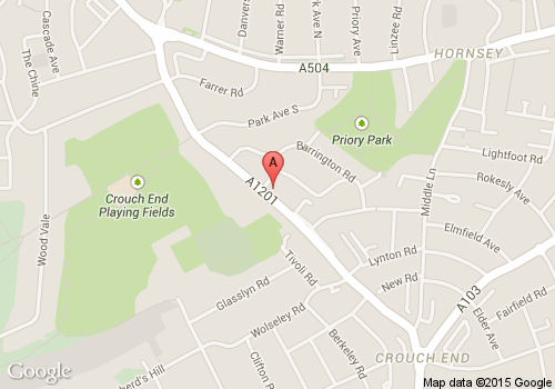 Hills Veterinary Surgery Map